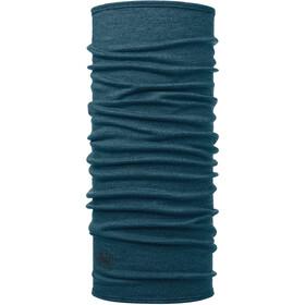 Buff Midweight Merino Wool Scaldacollo tubolare, petrolio